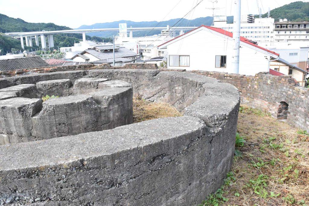 丸山タンク2019年9月22日の写真 内部
