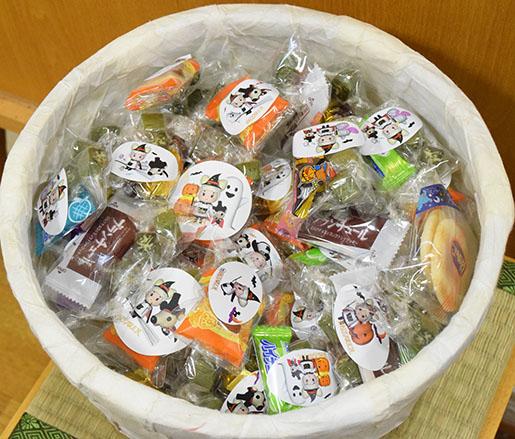 ハロウィンお菓子
