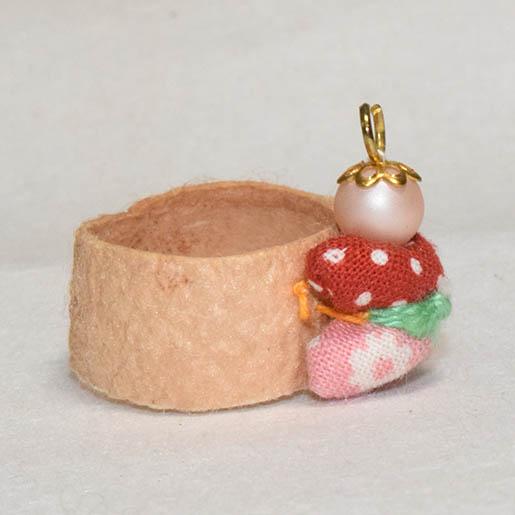 布人形指輪