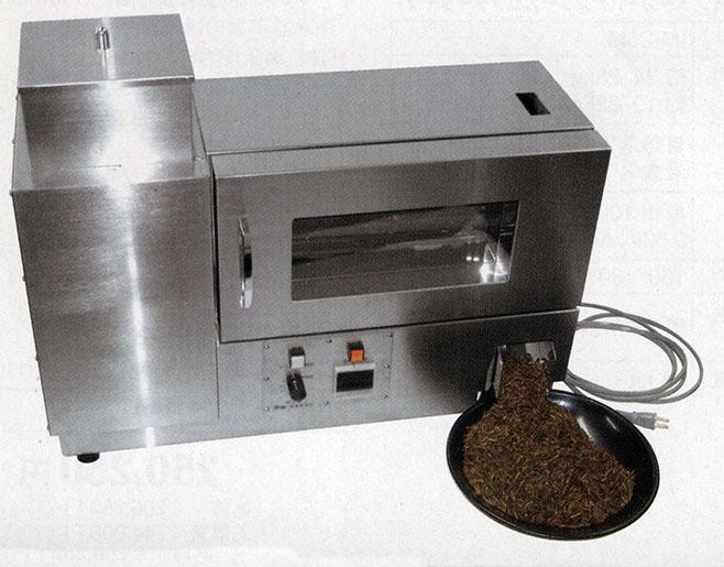焙じ機のカタログ写真