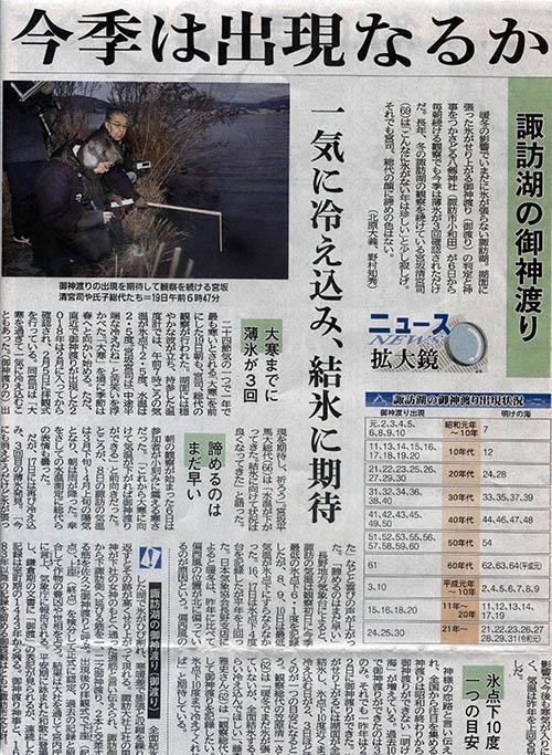 長野日報2020年1月20日