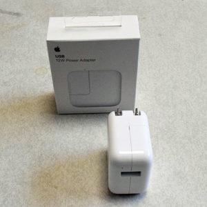 USB電源アダプタ 12W