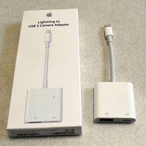 iPad USB3カメラアダプタ